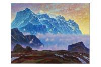Dawn of mountains