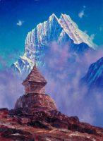 仏塔とタムセルク